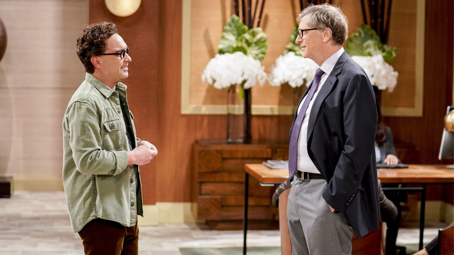 Image for Bill Gates, estrella invitada en 'Big Bang'