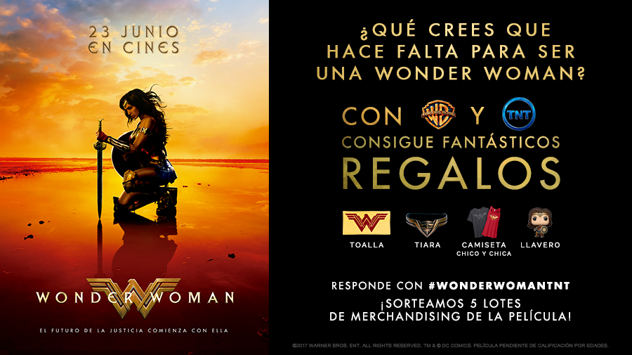 Image for ¡Concurso en TNT! Llega 'Wonder Woman'